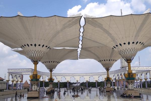 Panyung Raksasa Masjid Agung Semarang
